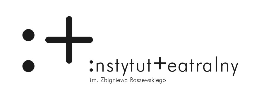 Logo Instytutu Teatralnego imienia Zbigniewa Raszewskiego.