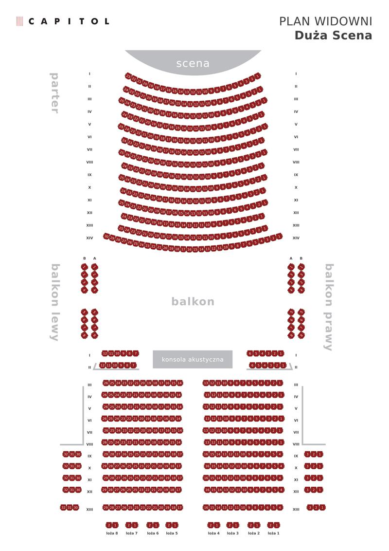 Cennik Teatr Muzyczny Capitol