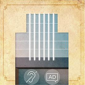 Serial o teatrze - wejście z audiodeskrypcją i napisami